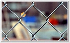 Chain link fence/diamond wire mesh