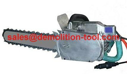 electric concrete chain saw and electric concrete cutting chainsaw  1
