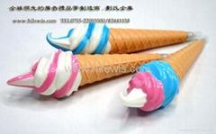 冰淇淋笔,面包笔