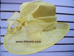 麻紗帽,氈帽,寶盛製造