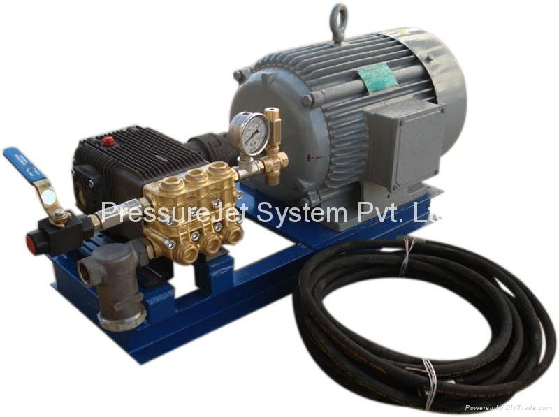 Hydro test pumps - Product Catalog - India - PressureJet Systems Pvt