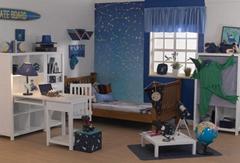 Dream Flyer kids bed room furniture/bunk bed set