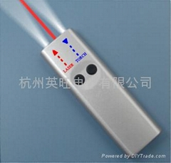 带LED灯的卡片式激光笔/激光卡片
