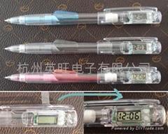 带电子表的活动铅笔