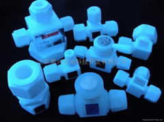 PTFE connector