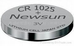 CR1025 Lithium coin cell / button battery