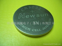 CR3023 3V lithium Coin cell battery button cell