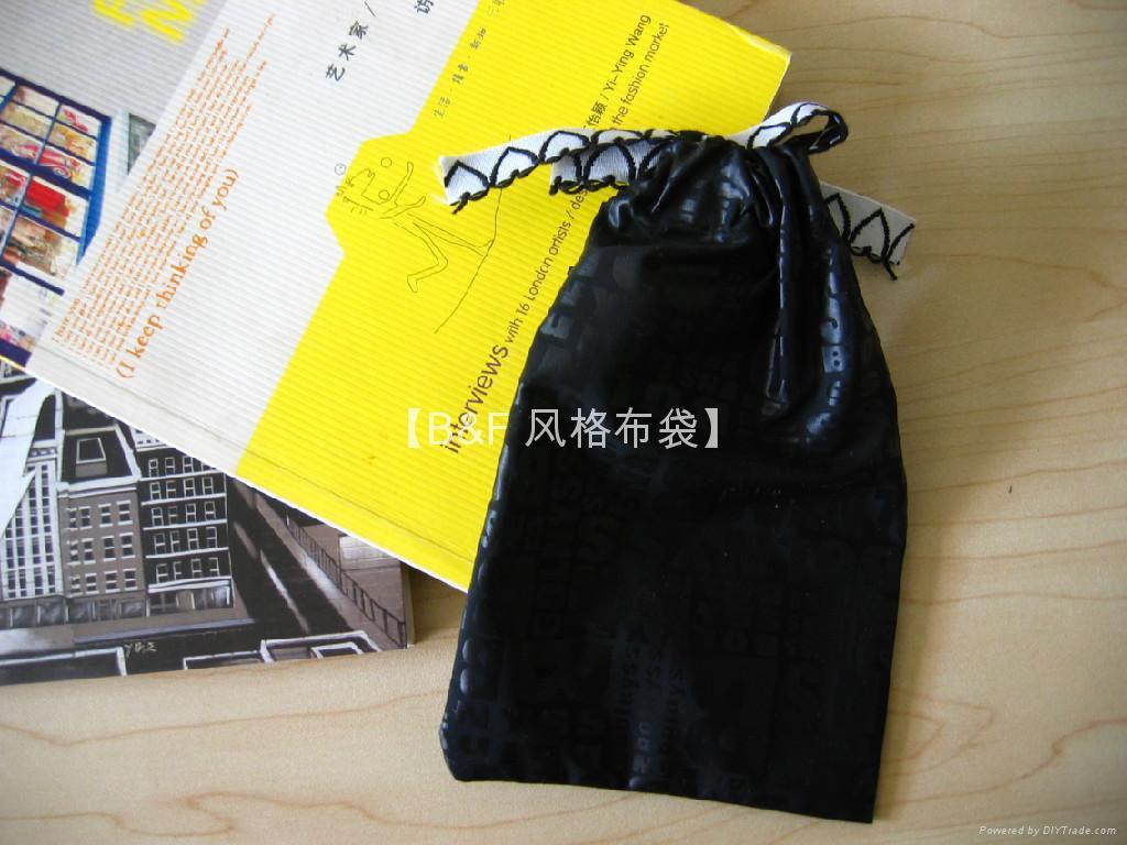 北京 风格定制  束口小布袋小丝袋小绒袋 4