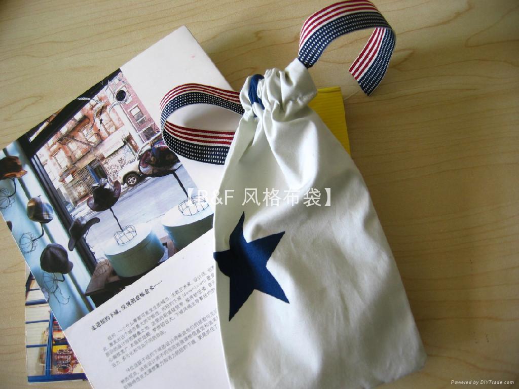 北京 风格定制  束口小布袋小丝袋小绒袋 5