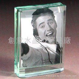 水晶相框 1