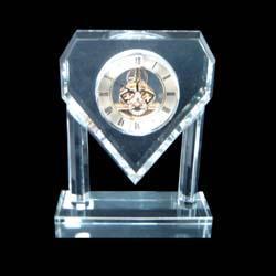 水晶钟表摆件 2