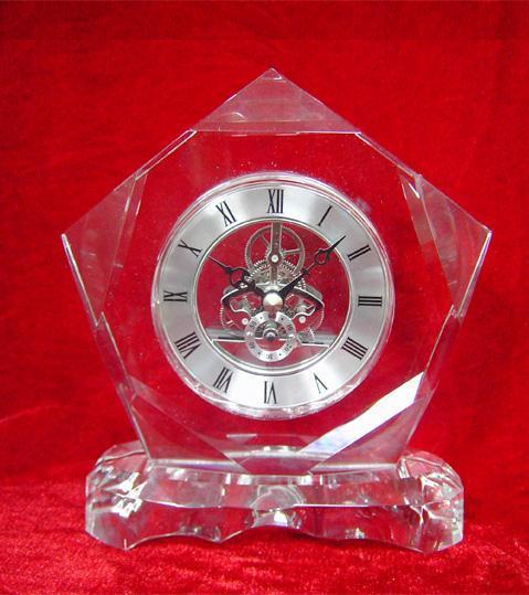 水晶钟表摆件 3