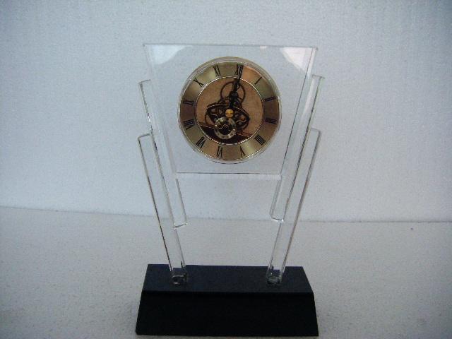 水晶钟表摆件 5