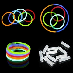 Glow Stick Bracelets Mixed Colors
