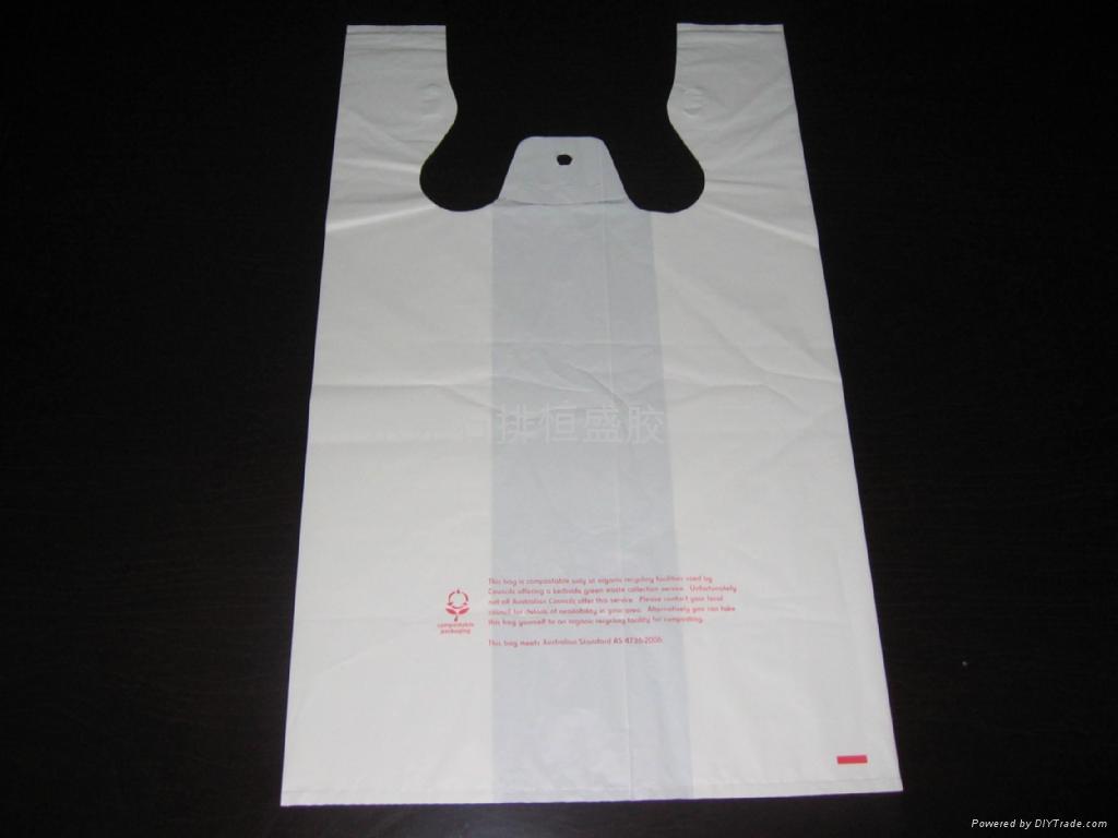 T Shirt Bags Plastic Vest Bags Super Market Bags Hs Pe