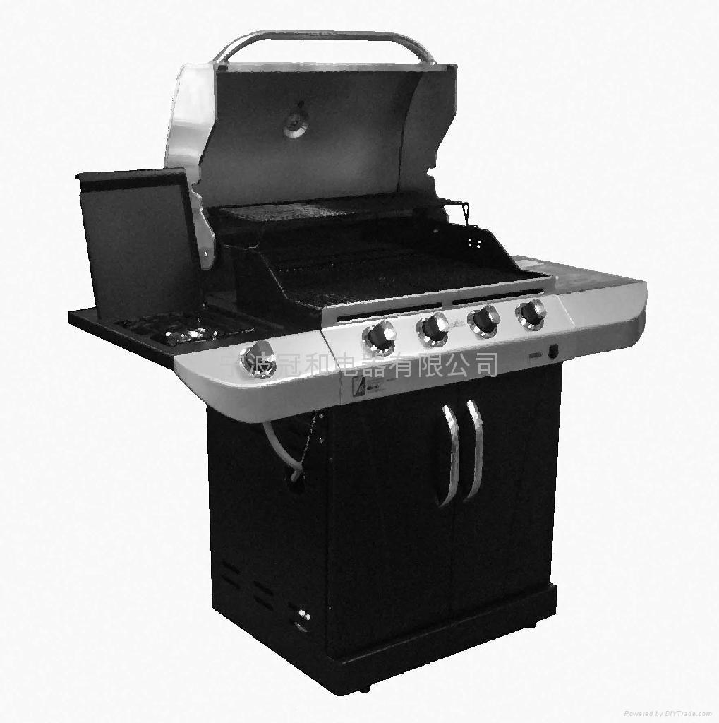 户外庭院花园 烧烤 烘焙 用具 烧烤 架炉 燃气 烧烤 炉