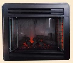 36寸电壁炉炉芯(LED火焰模式)带遥控