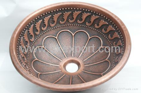 Copper Sink,Copper Basin,Bathroom Copper Bowl,Bath Handmade Copper Sinks 1  ...