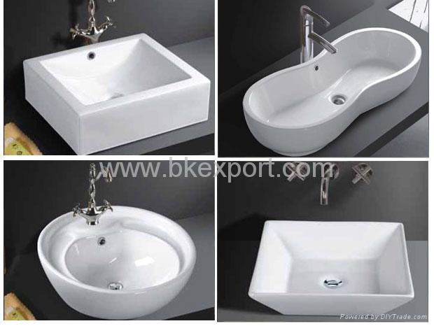 Above The Counter Bathroom Sinks : Above Counter Ceramic Sink (Bathroom Sinks) - newstar (China ...