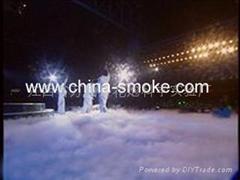 Movie and TV screen smoke bomb, Stage smoke cake