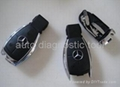 Benz smart key 4 button & BMW 3,5,7 series key
