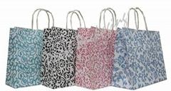 Floral Kraft Paper Bag
