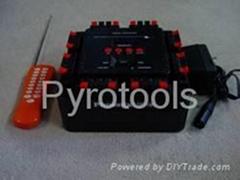 16 cue remote wireless firing system