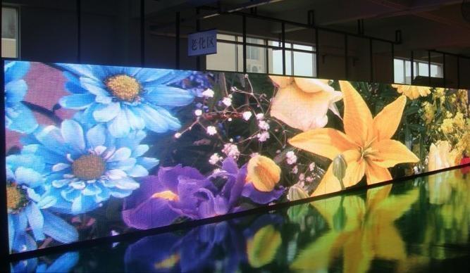 供應安徽合肥P7.62 P6 P5 室內全彩LED電子顯示屏 1