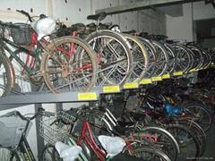 两层自行车助动车停放架