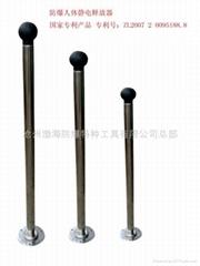 (专利产品)防爆触摸静电释放器(仪)13483831728