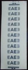 電鑄金屬鎳標誌標牌