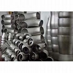 The titanium bent pipe
