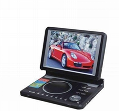 10.4''in dash portable dvd player with TV/GAME/DVD/CARD READER/USB,SD
