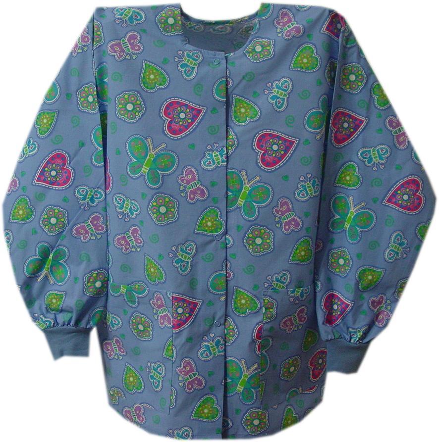 Round Neck Spring Quilt Jacket  1