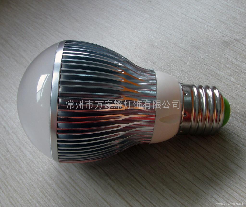 大功率LED球泡灯-G60-3L*1W