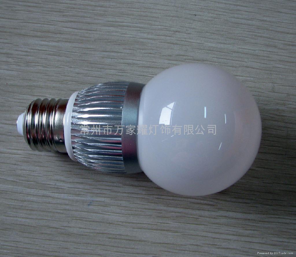 大功率LED球泡灯-G60-1L*3W