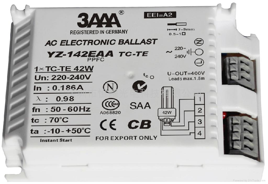 PLC (TC/TC-TE) 標準型電子鎮流器 3