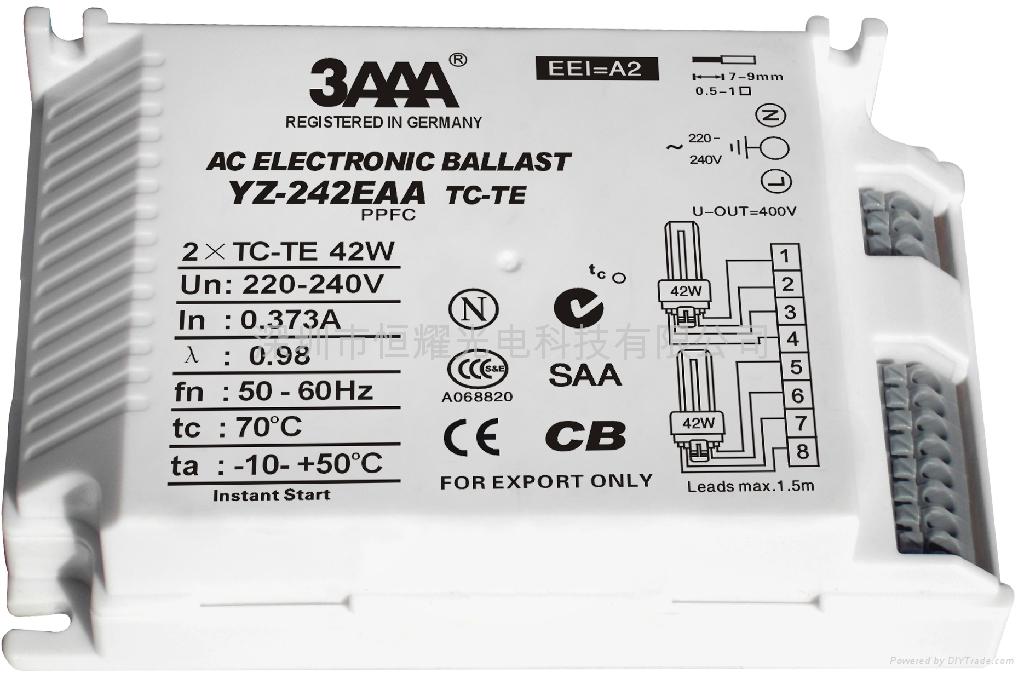 PLC (TC/TC-TE) 標準型電子鎮流器 5