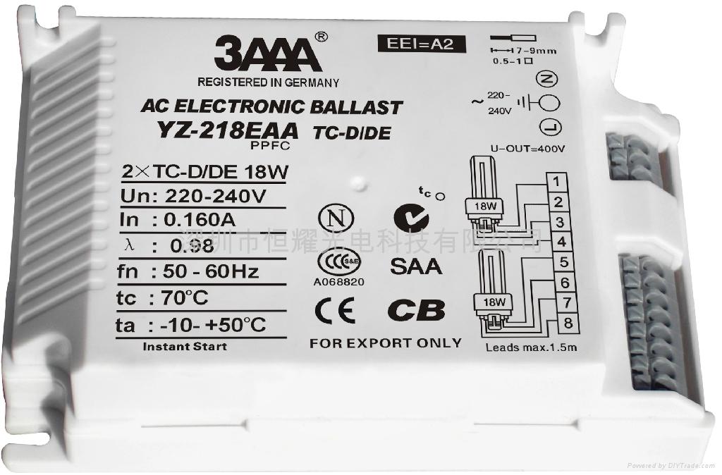 PLC (TC/TC-TE) 標準型電子鎮流器 4