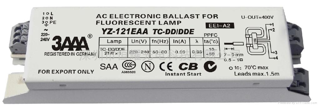 2D(TC-DD/DDE) 標準型熒光燈電子鎮流器 1