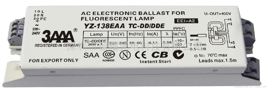 2D(TC-DD/DDE) 標準型熒光燈電子鎮流器 3