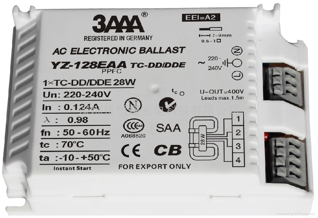 2D(TC-DD/DDE) 標準型熒光燈電子鎮流器 4