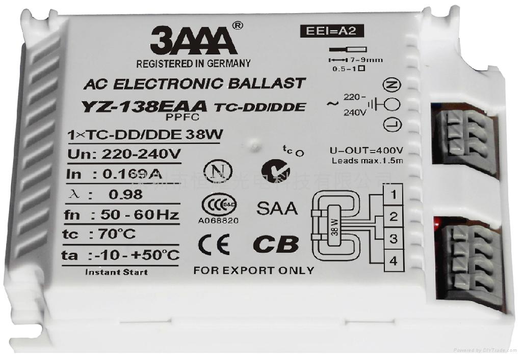 2D(TC-DD/DDE) 標準型熒光燈電子鎮流器 5