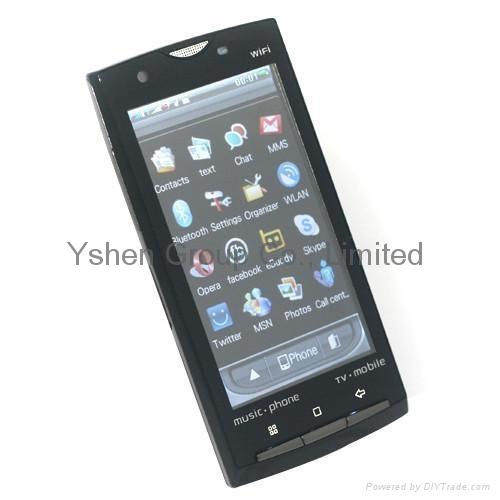 Sony Ericsson X10 WIFI JAVA TV dual sim 3.6 inch screen mobile phone ...