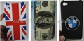 IPHONE 4 4G Hard Case UK FLAG WOODEN USD COFFEE BMW US DOLLAR DIAMOND DESIGN