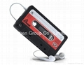 New Arrival  Cassette Soft Silicon Cover Case for iPhone 4 4G
