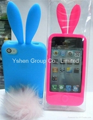 2011 New Arrival The Rabbit silicon Case