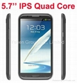 "N9589 5.7"" IPS Touch Android 4.2 Smart Phone MTK6589 Quad Core CPU 1GB RAM 8GB"