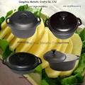 cast iron casserole