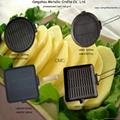 Preseasoned cast iron grill